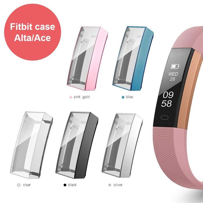 Caso di protezione per Fitbit Alta / Fitbit ACE SCREEN PROTECTOR Coperchio Fitbit Alta / Fitbit ACE ACE CLEAR Thin Case Smart Orologio Sostituzione