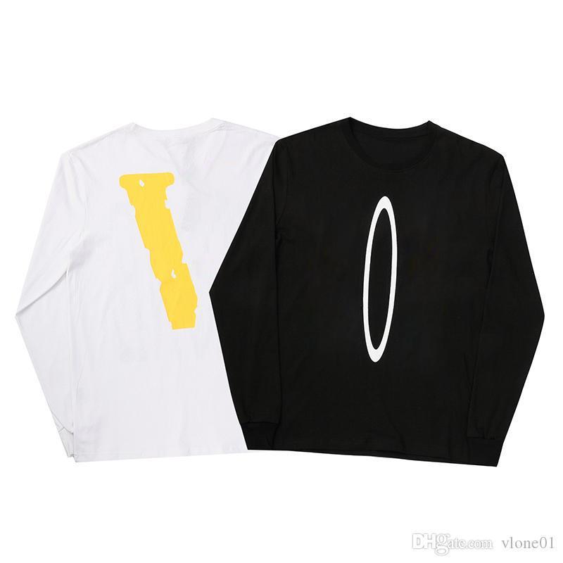 هوديي الهيب هوب مصمم هوديي الرجال جودة عالية أسود أبيض طويل الأكمام مصمم هوديس الرجال النساء سوياتشيرتس حجم S-XL