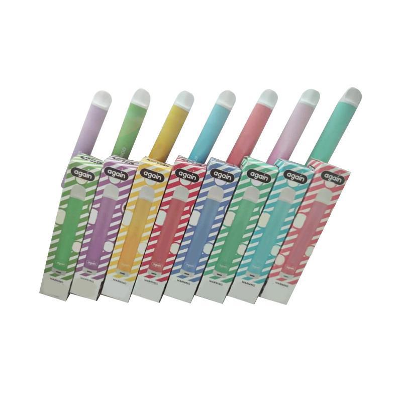 Ancora una volta DTL Sigaretta monouso Pod Kit 300 Puff Vape Pen 500mAh Batteria 2.8ml Dispositivo vuoto