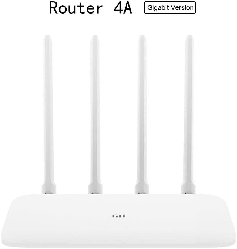 Xiaomi Mi Router 4a Gigabit 1000m 2.4GHz 5GHz Wifi DDR3 64MB 128MB 4 Antenas App Control Versão Global