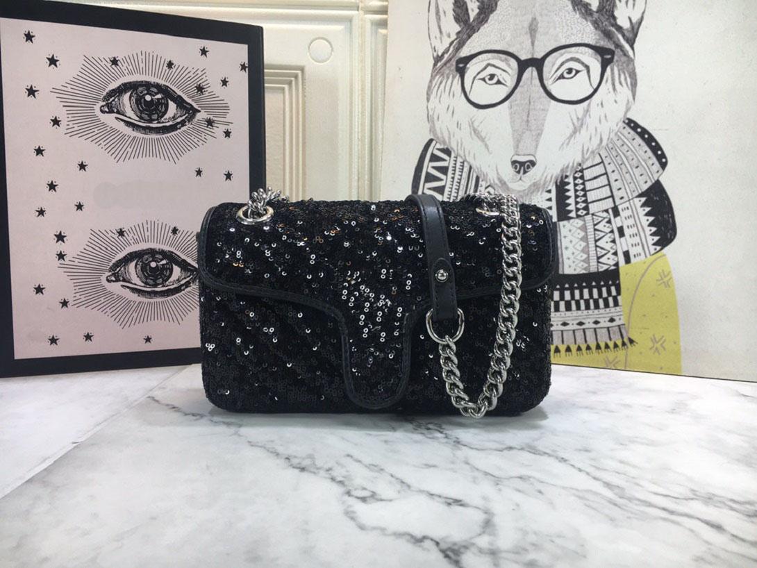 2021 새로운 여성 디자이너 스팽글 반짝이 핸드백 메신저 가방 핸드백 어깨 가방 클러치 백 핸드백 동전 가방 메신저 가방 메신저 가방