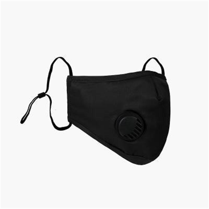 2020 estoque !! Em PM2.5 Válvula anti-nevoeiro à prova de poeira ajustável boca reutilizável macio respirável anti-pó máscaras EEE1482 250 pcs
