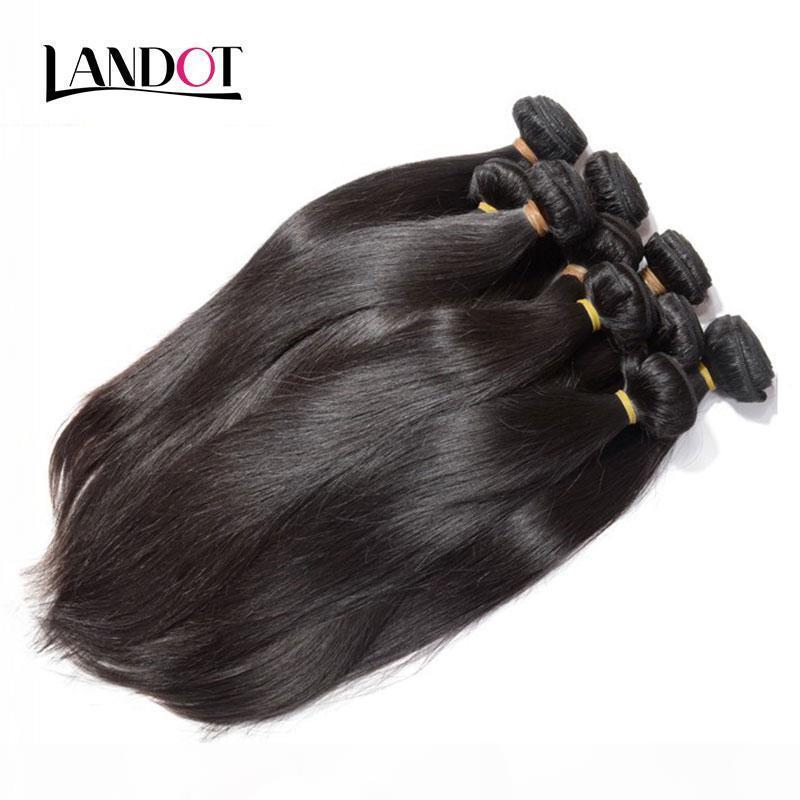 Vente en gros 10A cheveux brésiliens droits de droite 1 kg lot non transformé indien malaisien péruvien cheveux humains cheveux humains peut blanchir peut teindre la couleur naturelle