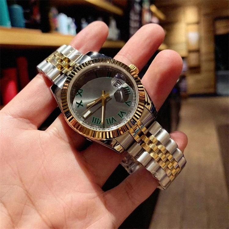 Luxusuhr 41mm 2813 Automatische Perpetuelle 36mm Uhren Männer mechanische Designer-Männer DateJust Uhren Herren Designer Armbanduhren V2BI #