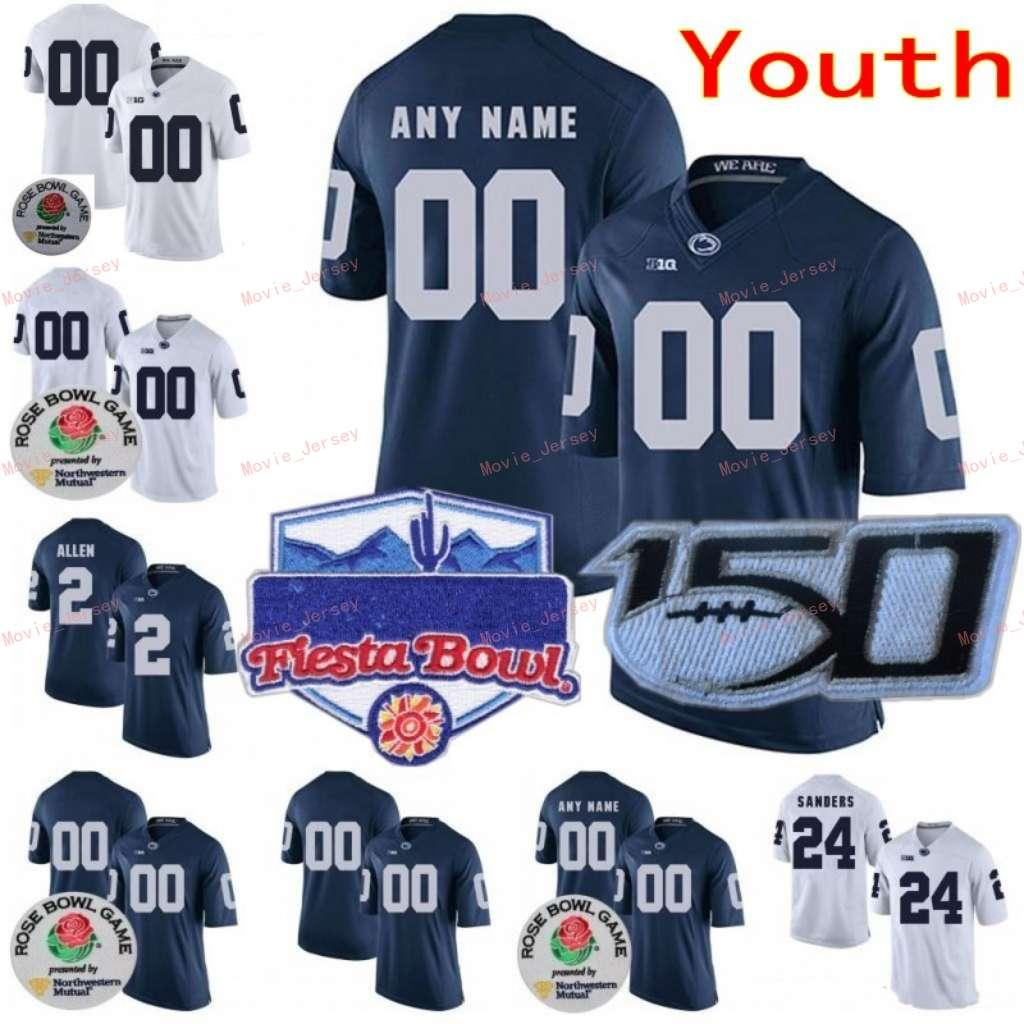 Dikişli Özel 33 Jack Ham 34 Franco Harris 38 Lamont Wade 4 Yolculuk Kahverengi Penn State Nittany Lions College Gençlik Forması