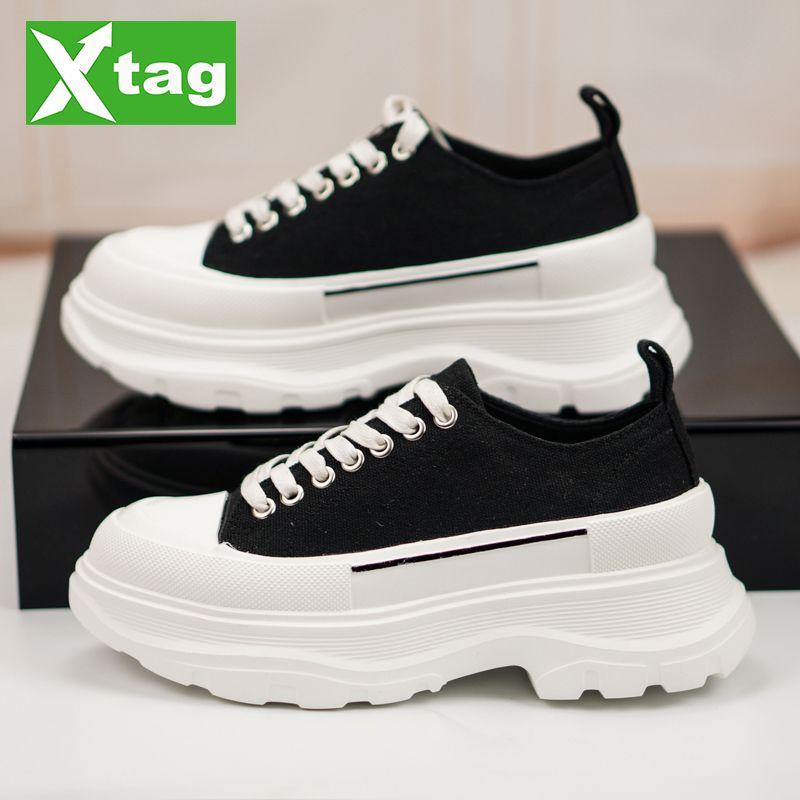 2021 Yeni Sırtı Slick Tuval Sneaker Yüksek Üçlü Siyah Kraliyet Kırmızı Beyaz Soluk Pembe Koşu Ayakkabıları Güzel Rahat Kadın Kız Platformu Çizmeler