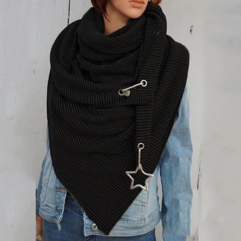 Atkılar Kadınlar Katı Eşarp Wrap Lady Başörtüsü Kadın Retro Kadın Çok Amaçlı Şal Kaşmir Kış Fular # G2 / 5