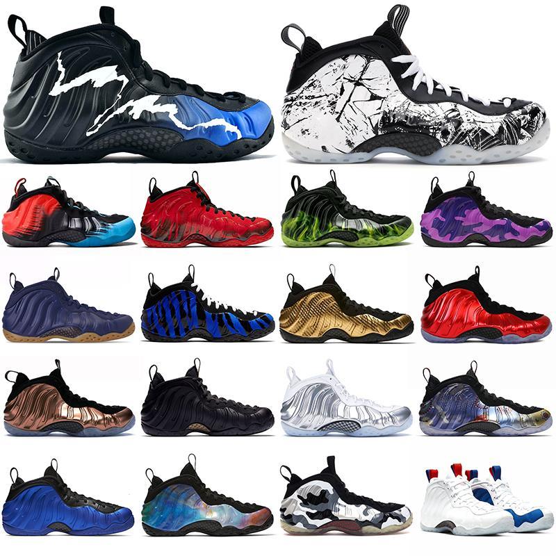 Foam posite one penny hardaway MensBasketballShoes foam one Olympic Paranorman Vandalized fashion outdoor sports sneakers 7-12