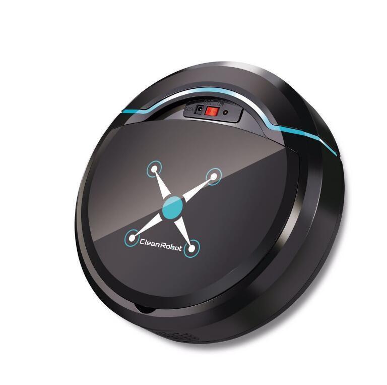 Автоматический смарт-робот Вакуумный очиститель Небольшие пылесосы для подметания робота напольная грязь Auto Home USB аккумуляторная очистка машины