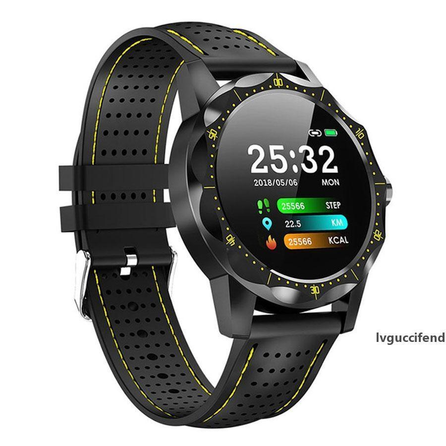 Céu 1 Bluetooth relógio inteligente homens ip68 ip68 impermeável pulseira atividade rastreador fitness rastreador smartwatch relógio borda para o telefone ios android