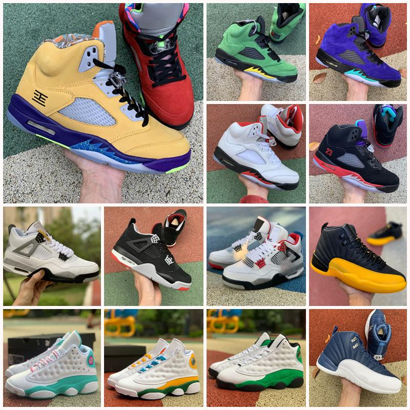 Jumpman 5 5s Segel Alternative BEL Grape Basketballschuhe Was der frische Prinz SE Oregon Ducks Michigan 4 12 12s Sneakers Männer Sporttrainer