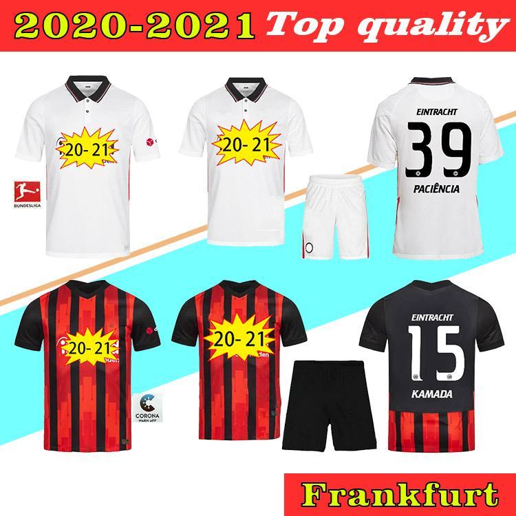 2020 Eintracht Frankfurt Fernandes Kostic GACINOVIC Soccer Jerseys 20 21 Camicia da calcio Haller Sow Rebic DA COSTA Top Quality