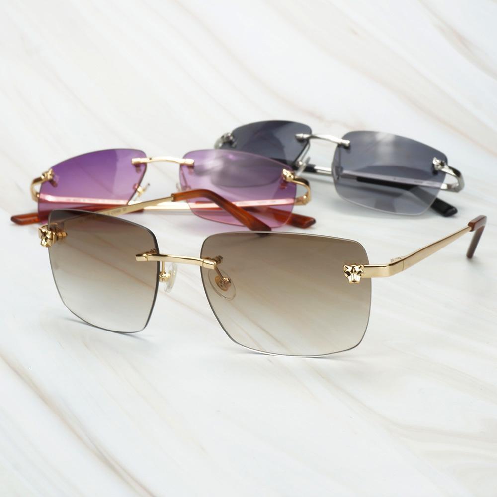 Quadro Decoração Vidro Mulheres ql11 Pantera Beleza Luxo Gafas Head Homens Aleatórios de Óculos de Sol para Viagem Sol HCJCH