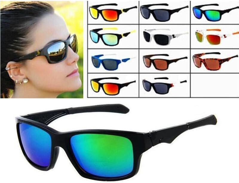 Estilo de verão Óculos de sol ao ar livre para homens Marca Designer de moda óculos de sol homens mulheres mais recentes 11 cores Top Quality Sports Cycling Óculos