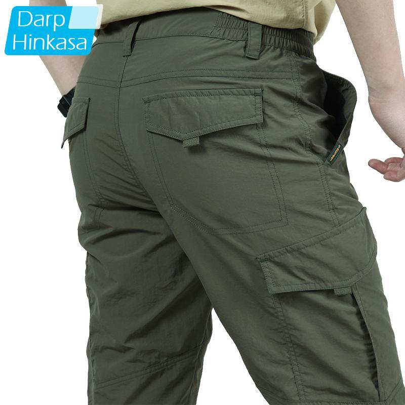 Summer Men Pants Tactical Cargo Pants Men Lightweight Breathable Quick Dry PantsMilitary Cargo Pants Men Tactical WorkPants LJ201007