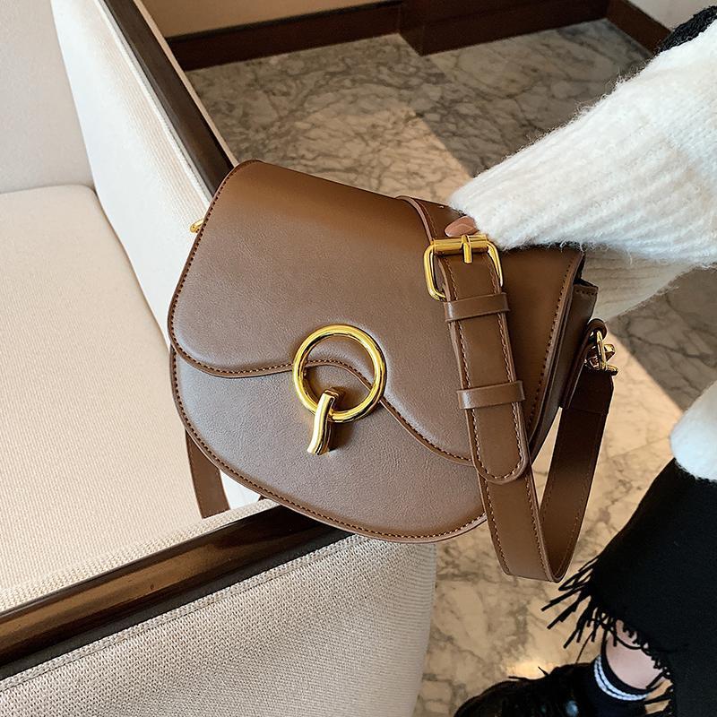 And Sense Bag 2020 Western New Women's Autumn High Winter Strap Fashion Style Designer Wide Shoulder Messenger Of Qjiub