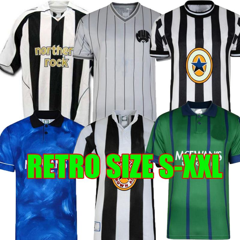 95 96 97 98 99 05 06 Shearer Retro Soccer Jersey Martins Hamann Shearer Pinas 1984 1995 1997 99 05 06 United Owen Classic Football Shirts