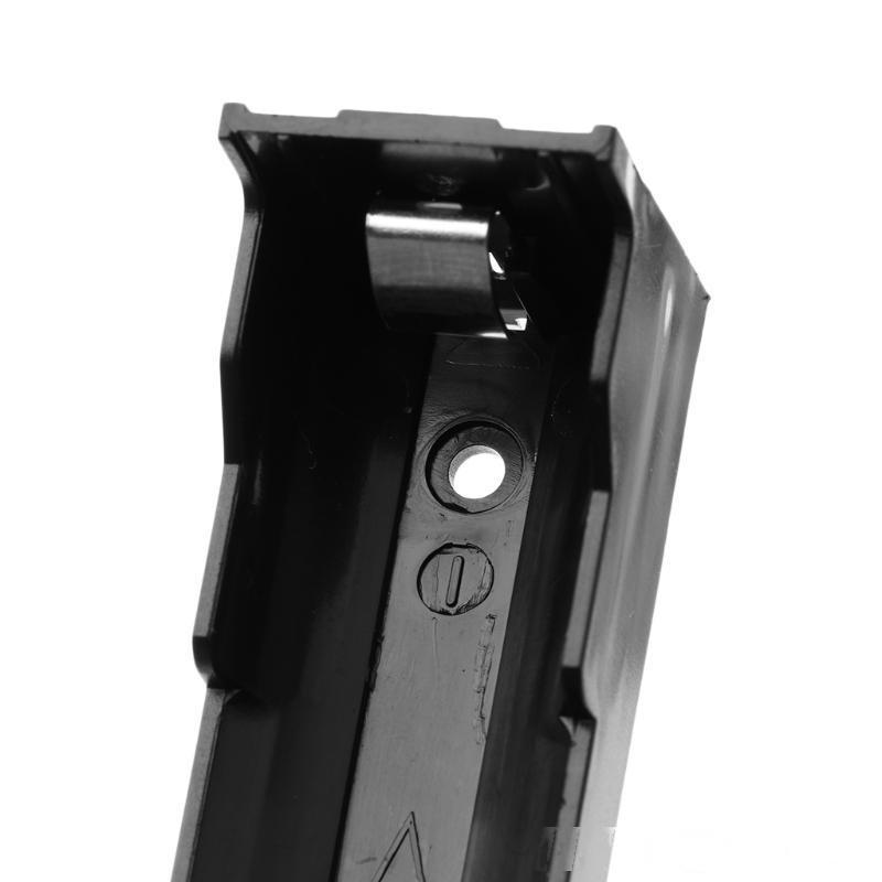 5 teile / satz DIY ABS-Aufbewahrungsbox 2-polige Halteretasche für 1x Li-Ion 18650 3.7V Batterie