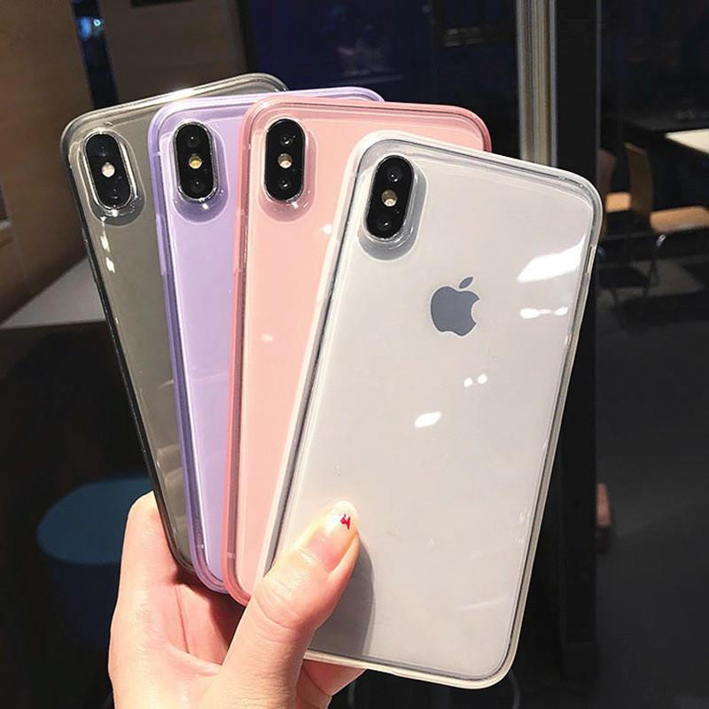 2020 Ins Heißer Verkauf Es gilt für Apple Mobiltelefonkoffer 12 11Promaxx XS Soft TPU Transparent Clear Phone Case Schutzabdeckung Stoßfest