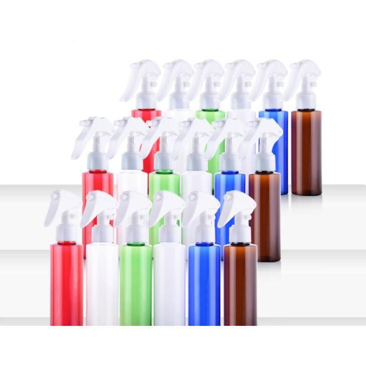 100 мл квадратное плечо красочные распылительные бутылки косметики упаковки пластиковые бутылки тумана спрей загрузка засорительная упаковка бутылка DWD3041