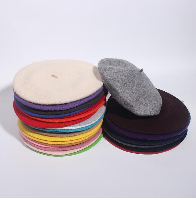 2020 nuovo berretto da donna Berretto da donna retrò britannico pittore pittore in lana adulto autunno e inverno cappello caldo