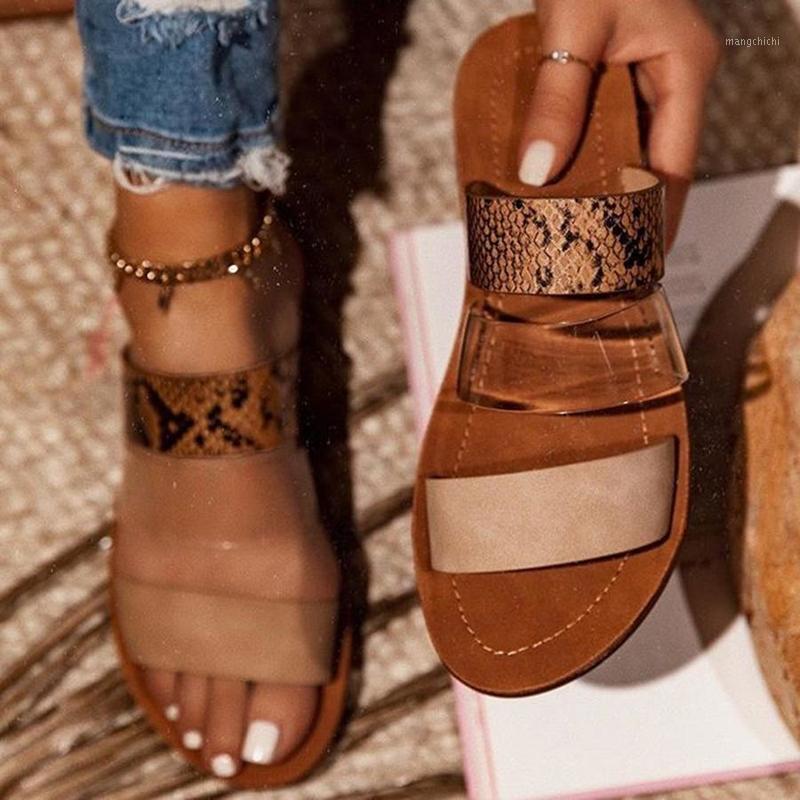 Blwbyl zapatillas patchwork slides de verano al aire libre playa plano tacón costura 2020 moda casual mujer zapatos de mujer zapatos de mujer1