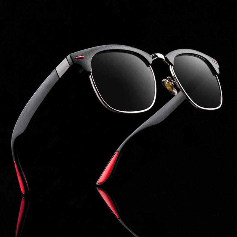 TR90 óculos polarizados Feminino Chegada Novo Designer Oval Homens Sun 2020 para mulheres óculos de sol QMVEV
