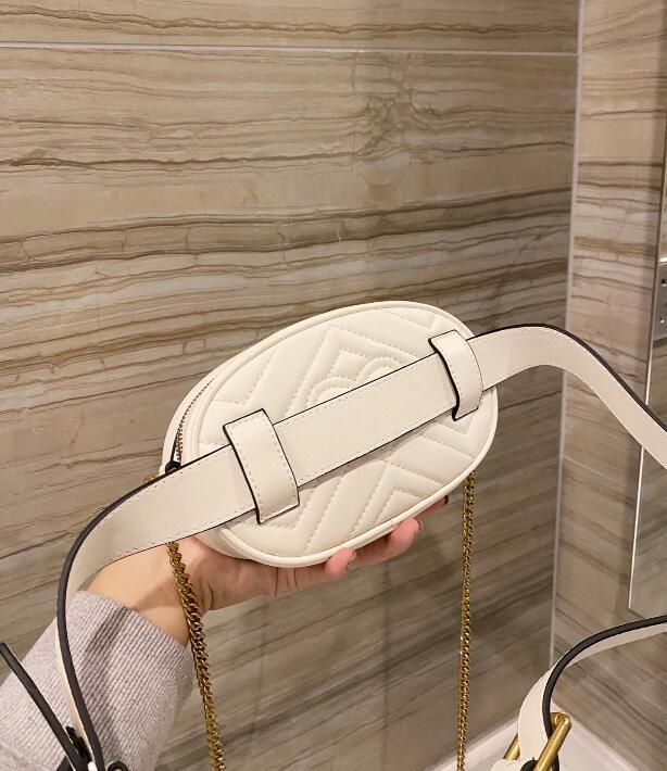 Toptan Luxurys Tasarımcılar Çanta / Eyer Çanta / Marka Bel Çanta / Cırır Kemeri Çapraz Vücut Çantası / Çanta / Luxurys Tasarımcılar Çanta