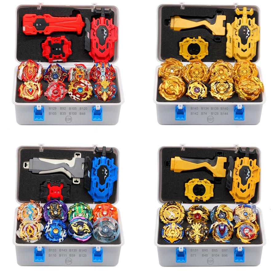 Gold Takara Tomy Launcher Beyblade Rurst Arean Bayblades Bakables Set Box Bey Blade Toys for Child Metal Fusion New Regalo 201016