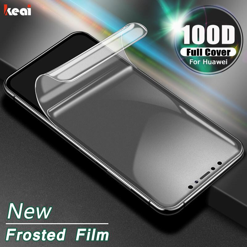 Frosted Hydrogel Film For Huawei P30 P20 Lite Screen Protector For P smart 2019 Mate 30 20 Pro P20 Lite Film Not Glass