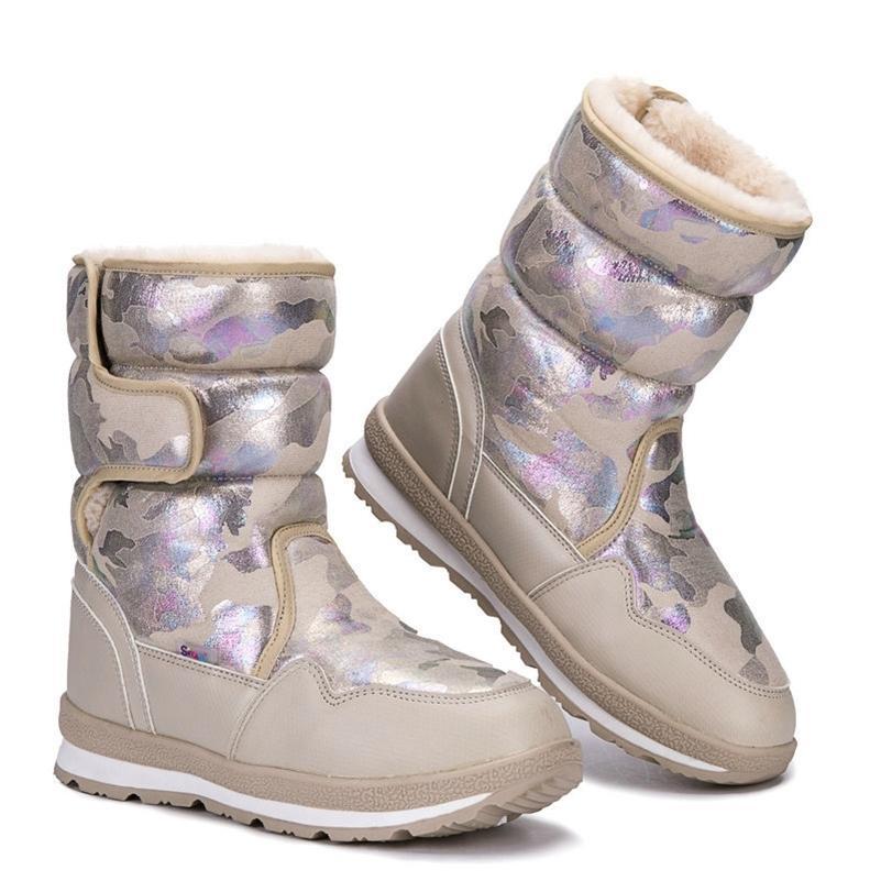 Zapatos para niñas Botas de nieve para niños Botas para niños Invierno Cálida suela de deslizamiento antideslizante Talla grande de 27 a 41 botas para niñas JSH-904 201128