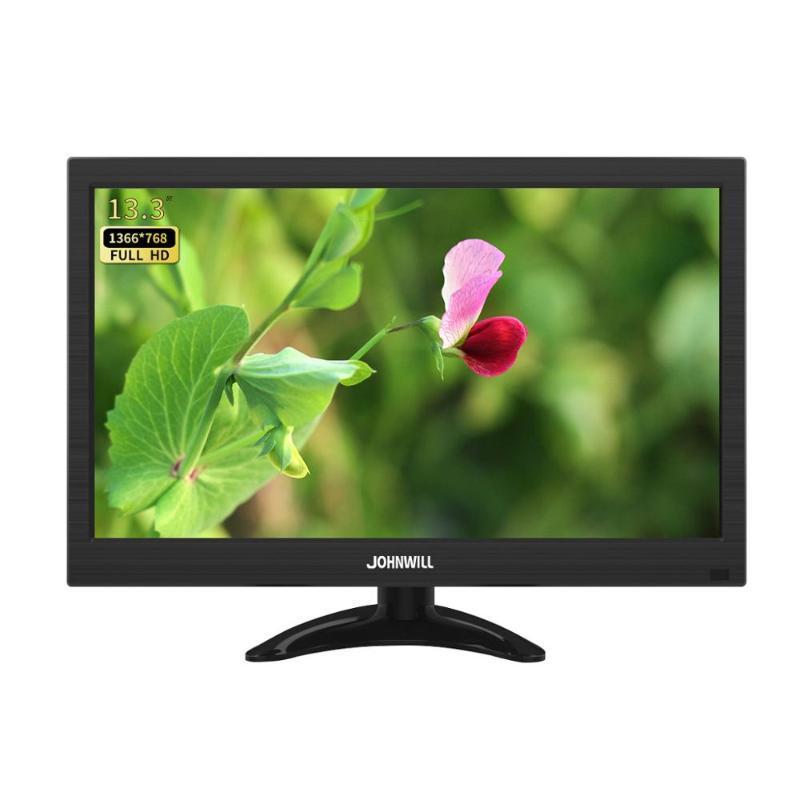 13.3-Zoll HD 1920x1080 LCD-Monitor mit VGA-Audioausgabeschnittstelle für PS4 / PS5 / PC-Schalter Himbeer-PI-Auto / Mac /