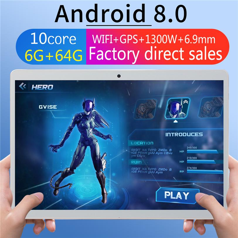 10.1 Inch Tablet PC Octa Core 3G phone Android Tablet 1GB Ram 16GB Rom with IPS Screen wifi Bluetooth GPS WIFI FM