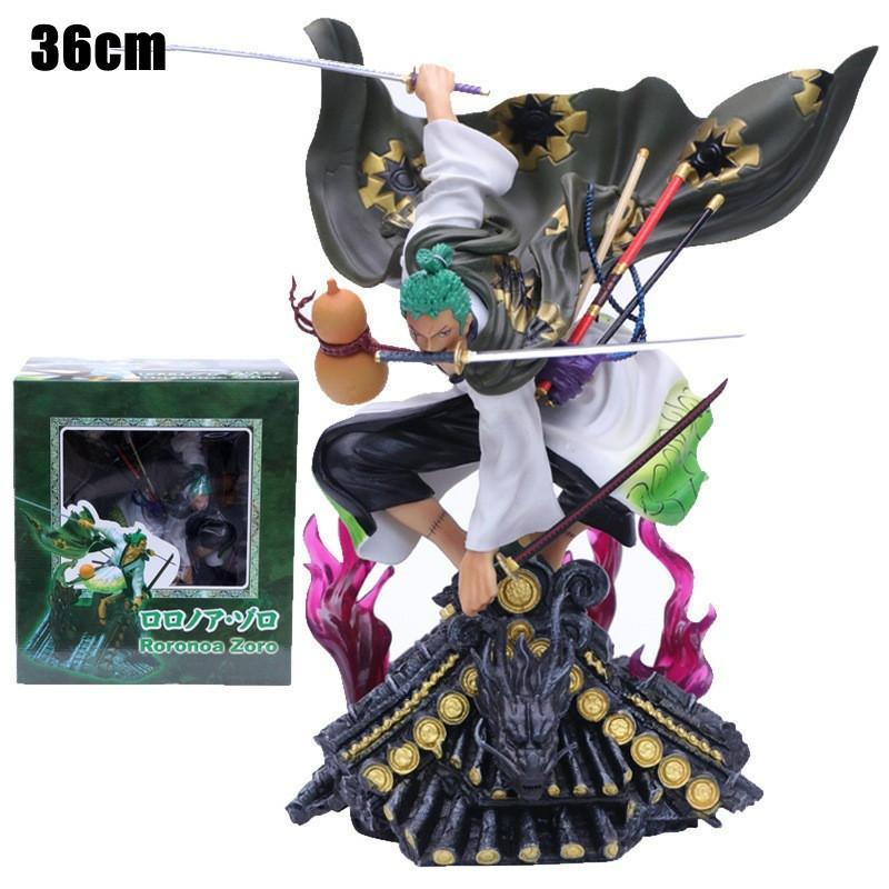 22 estilo anime uma peça fugure modelo novo mundo roronoa zoro chapéu de palha clássico batalha pvc figura de ação colecionável menino presente de brinquedo q1217
