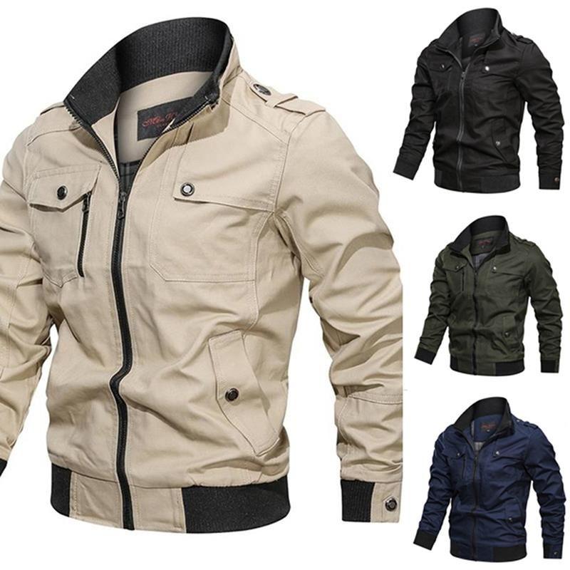 Осень Корейский мужской куртка мужская бомбардировщик куртки мужские бейсбольные тонкие мужские пальто кадров повседневный мужской ванну ветровки стенд воротник куртка