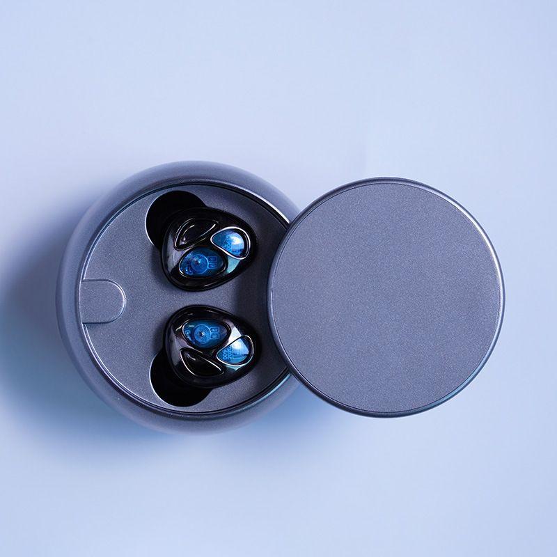 Cross-fronteriza Nuevo D09 Slider TWS Verdadero Ingreso inalámbrico Oído Pesado Bass 5.0 Universal Bluetooth Auriculares Modelo privado Modelo de personalización