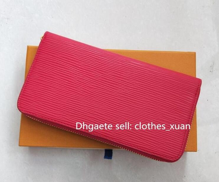 Portafoglio Designer di alta qualità con contenitore di regalo Brevi portafogli per portafogli Brevi portafogli famosi per uomo Borsa da uomo Borse da pioggia