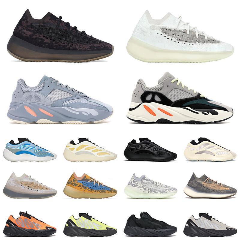 boost 700 v3 yezzy v2 380 kanye west wave runner scarpe da corsa magnete Vanta analogico per uomo donna statico malva solido di lusso scarpe di design taglia 36-45