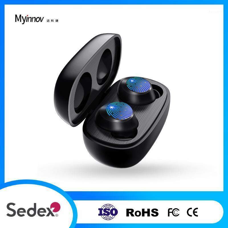 Kulaklıklar MYINNOV M7 Kablosuz Bluetooth V5.0 Dokunmatik Kontrol Stereo HD Akıllı Telefonlar için Konuşur1