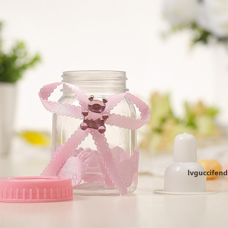 Baby Shower batismo do partido presente de aniversário favores caixa dos doces garrafa
