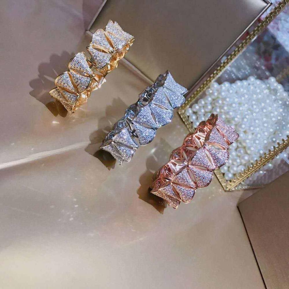 S925 Чистое серебро, Прекрасные украшения, Платье, Леди Браслет, Классический, Стильный, Популярный, Роскошный, Изысканный браслет Леди.