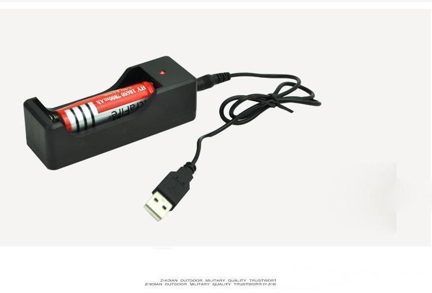 Ligne de chargement USB lampe de poche et connexion USB Ligne de connexion USB ligne de données DC Diamètre extérieur de 3,5 mm 0.8m Livraison gratuite