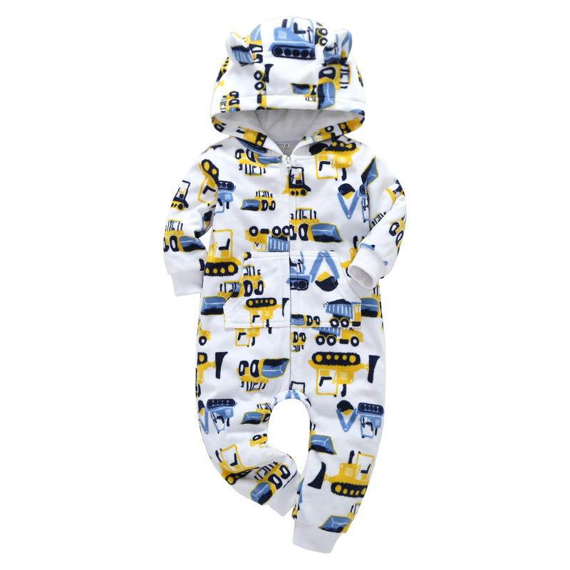 Baby Strampler Winter Herbst Baby Junge Mädchen Kleidung Neugeborene Infant Baumwolle Warme Jumpsuits Kleinkind Neugeborene Unisex Kleidung C0126