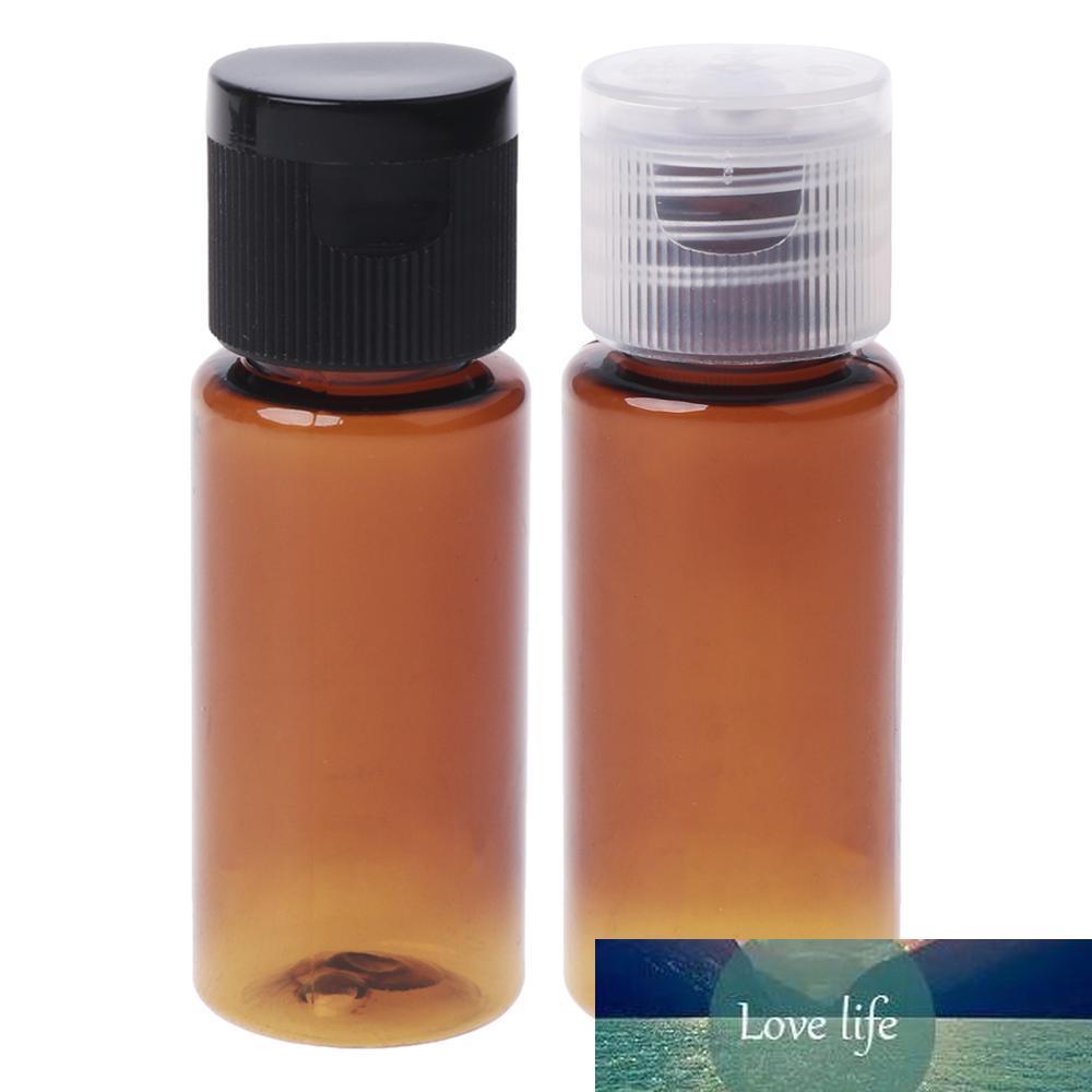 15 ml Reise leerer Flip-Kappe Flasche Make-up Emollient Wasser-Parfüm-Öl-Container-Dispenser nachfüllbare Flasche