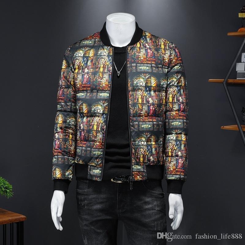 Erkek Kışlık Mont Jacketwinter Hafif Aşağı Ceket Erkek Tasarımcılar Kışlık Coatcasual Trendy Ceket Dolgulu Coatnew Erkek Moda Parka