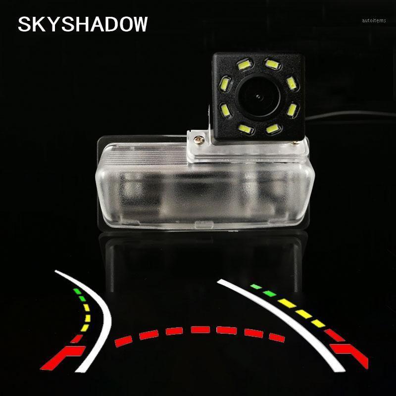 HD Car sans fil CCD Caméra arrière Fisheye 4 8 12 LED Dynamic Night Vision Support étanche à Bluebird Tiida 2020 20201
