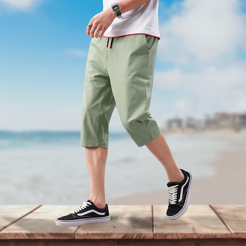 Pantaloni casuali degli uomini Primavera Estate nuovo modo pantaloni multi colore lunghe sottili Etero Maschio Pocket uomini di pantaloni Pantalon Hombre