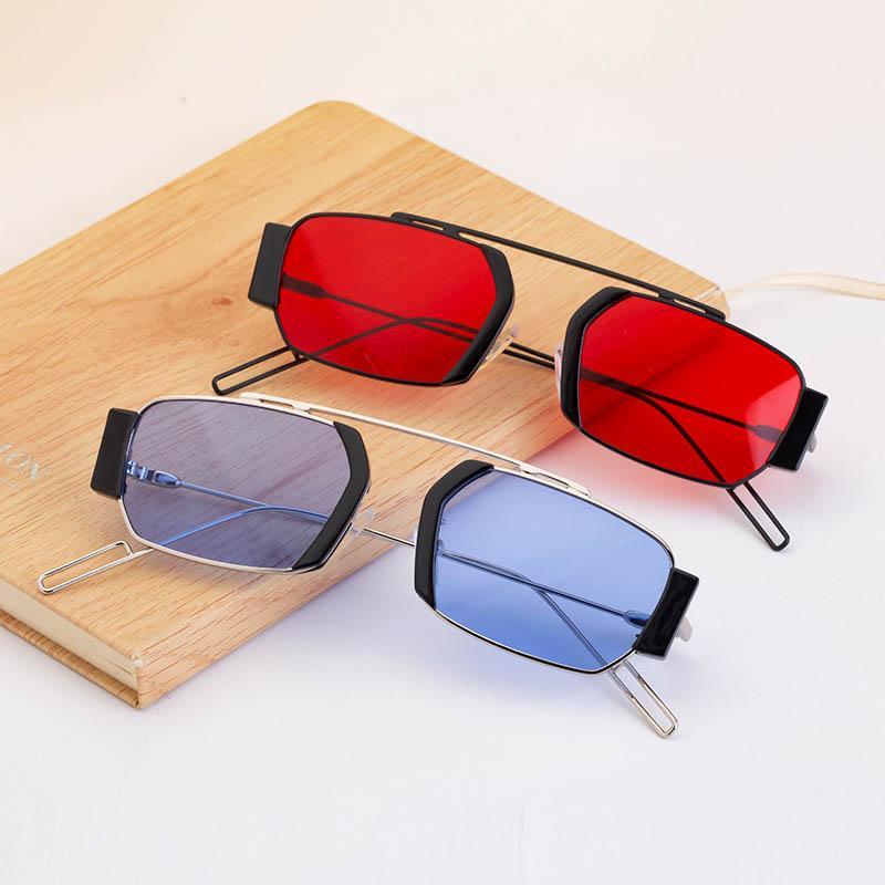 2021 Mode Sonnenbrillen Damen Kleine Box Männer und Frauen Sonnenbrille Trend Netto Celebrity Derselbe Stil UV400 Großhandel