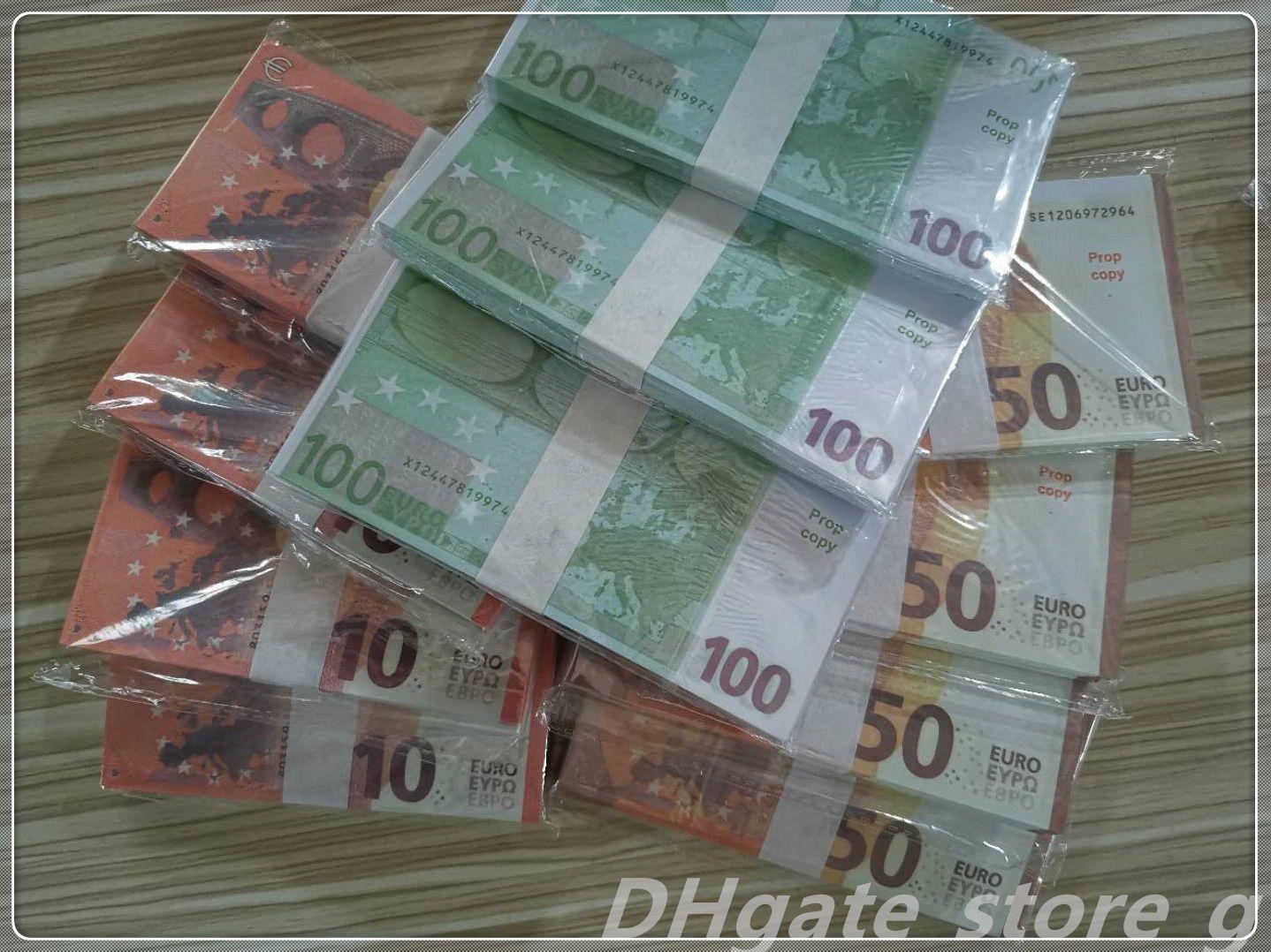 Money Quality Play Bar Billet Movie Discothèques Money Faux PROPL LB-101 FAIS POID EUR EURO MONEY ATMOSPHERE TOP BILLET BILLETTK PUMTK XADNN