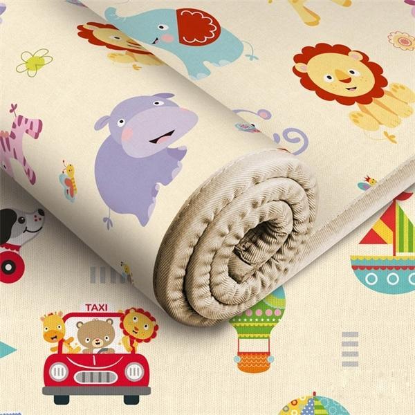 180 * 150 * 0.5cm bébé joueur écologique rampant tapis tapis de dessin animé de tapis antidérapant Education top Education ACTIVITE Q1121